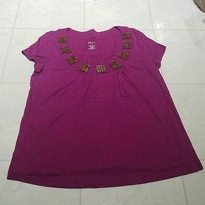 Women's Purple Blouse